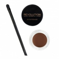Помадка для бровей MakeUp Revolution Brow Pomade Caramel Brown: фото