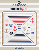 Наклейки для ногтей Nauti girl Еssence 01 hey, sailor!: фото