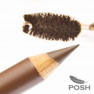 Пудровый карандаш для бровей POSH BW1 (для блондинок): фото