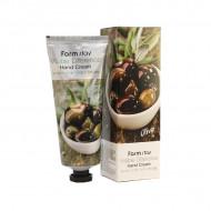 Крем для рук с экстрактом оливы FARMSTAY Visible differerce hand cream olive 100 мл: фото
