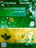 Маска для лица с зеленым чаем JAYEONMAPPING Green tea essence mask 25г: фото