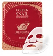 Гидрогелевая маска с экстрактом женьшеня SKIN79 Golden snail gel mask red ginseng 25 г: фото