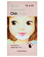 Очищающая полоска для подбородка ETUDE HOUSE Black Charcoal Chin Pack: фото