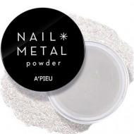 Пудра для ногтей A'PIEU Nail Metal Powder (Silver): фото