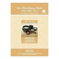 Маска тканевая Макколе (рисовое вино) Mijin Makgeolli Essence Mask 23гр: фото