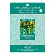 Маска тканевая морской виноград Mijin Green Caviar Essence Mask 23гр: фото