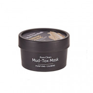Маска для лица с каолиновой глиной TheYEON Pore Clean Mud-Tox Mask [Yellow] 80гр: фото