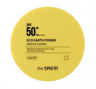 Солнцезащитный кушон THE SAEM Eco Earth Power Mild Sun Cushion 12г: фото