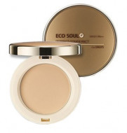 Пудра компактная THE SAEM Eco Soul Perfect Cover Pact 23 Natural Beige 11гр: фото