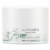 Маска интенсивная питательная для создания послушных и эластичных локонов Wella Professional Nutricurls Deep Treatment for Waves & Curls 500мл: фото