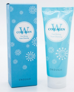 Пенка для умывания ENOUGH W Collagen Pure Shining Foam Cleansing 100мл: фото