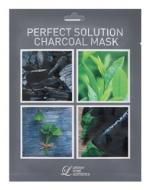 Тканевая маска с углем Lindsay Perfect Solution Charcoal Mask: фото