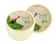 Гель универсальный с улиточным муцином 97% FoodaHolic Snail Firming and Moisture Soothing Gel 300 мл: фото
