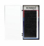 Ресницы Bombini поразмерно Черные, 20 линий: фото