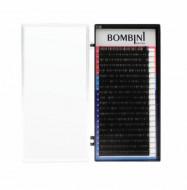Ресницы Bombini MIX Черные, 20 линий, 9-12: фото