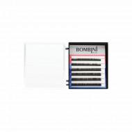 Ресницы Bombini MIX Черные, 6 линий, 5-7: фото